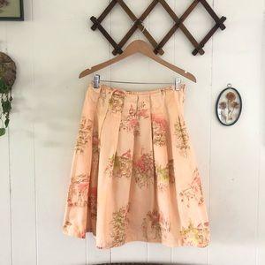 DKNY • Pleated Midi Skirt